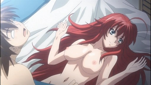 highschool dxd rias naked