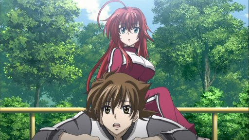 Highschool DxD Episode 6 [ Subtitle Indonesia ]