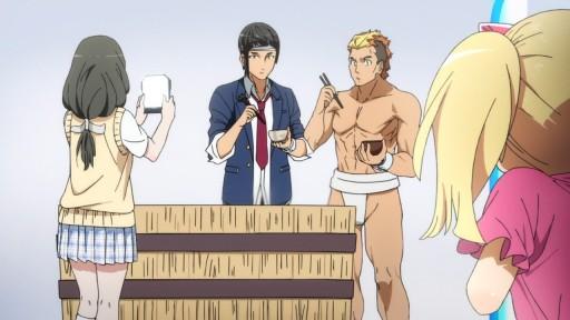 Aquarion logos episodes 08 11 the anime rambler by for Domon man 2015